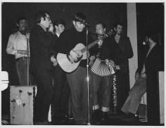 (L-R) Warwick Brock, Gordon Collier, Vic Brown, Frank Fyfe, Dave Hart, Mike Garland, Phil Garland