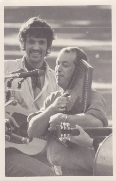 Warwick Brock and Dave Hart - Taken at the 1969 Banjo Pickers Convention in Ngaruawahia