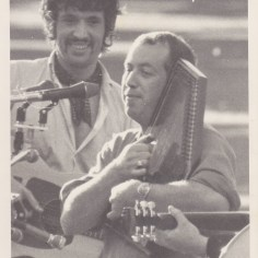 Warwick Brock and Dave Hart - Taken at the 1969 Banjo Pickers Convention in Ngaruawahia